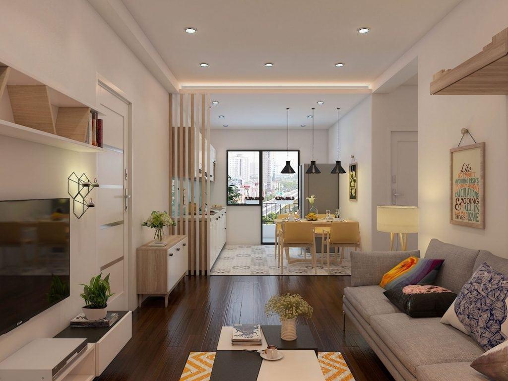 Mẫu thiết kế nhà nhỏ hẹp, đơn giản từ 16m2 đến 50m2